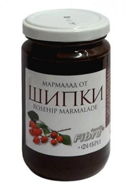 Мармалад от шипки с фруктоза 340 гр