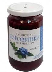 Конфитюр  с фруктоза и фибри - боровинка 340 гр