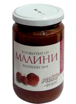 Конфитюр  с фруктоза и фибри 340 гр - малини