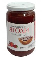 Конфитюр  с фруктоза и фибри 340 гр - ягоди