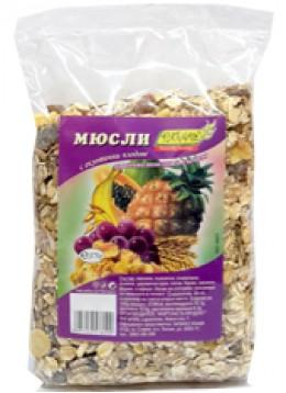 Мюсли екзотични плодове 375гр